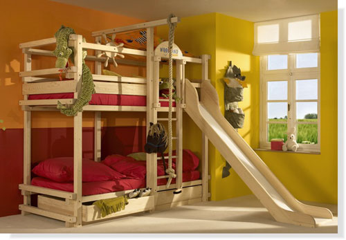 Bunk Beds with Stairs  Hayneedle